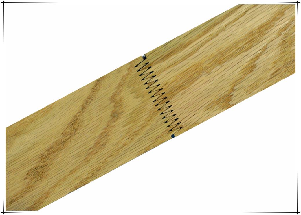 橡木齿接板花纹